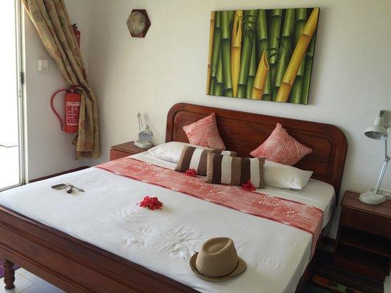 Le Tropique Villa : La chambre
