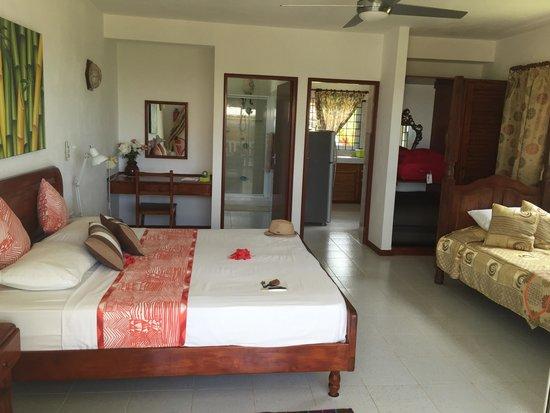 Le Tropique Villa : Appart tropique villa rez de chaussée