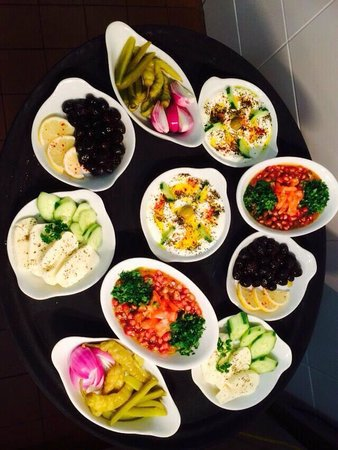 traditional Arabic breakfast Saturday and Sunday 11-3pm
