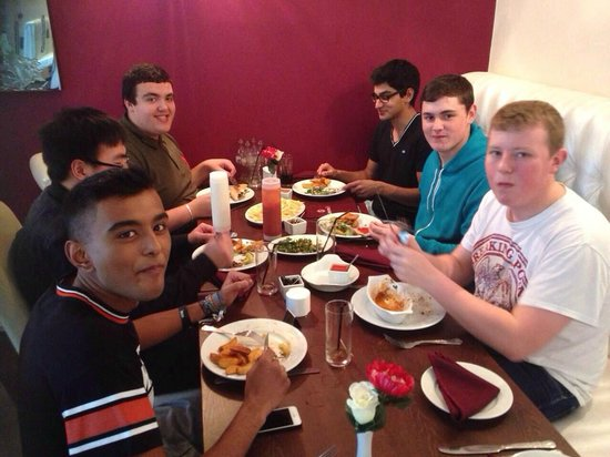 Samimi's Restaurant: lads lunch