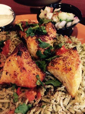 Rania's Kabob Grill: Chicken kabob, so delicious.