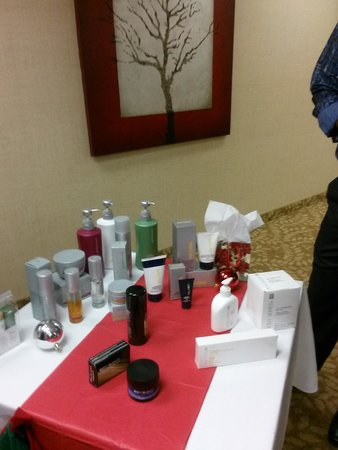 BEST WESTERN Downtown Stuart: Just a few of the products that were available at the convention.
