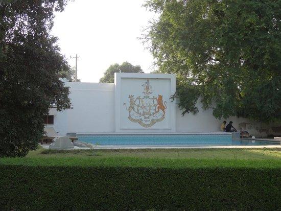 Bijay Niwas Palace: Palace coat of arms