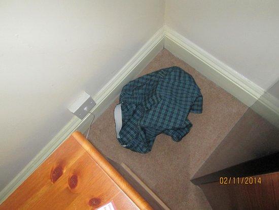 Heathlands Hotel Bournemouth: Underpants left in room