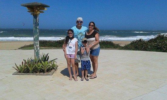 Pousada Sonho Verde: vista da praia da Costa Azul