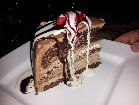 The Creek Restaurant : chocolate mouse cake