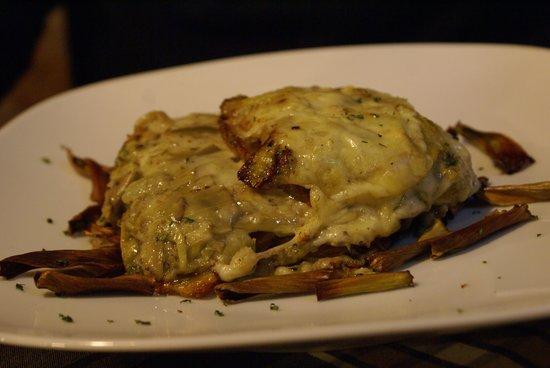 Gratinado de patata alcachofa y queso picture of - Gratinado de patata ...