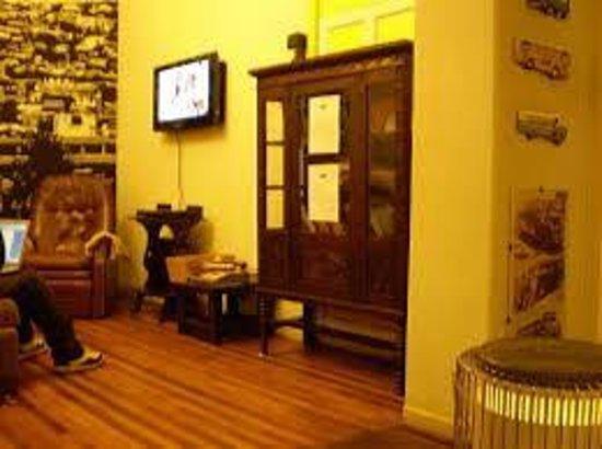 Hostal Providencia: Sala de estar