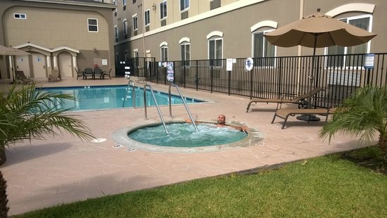 Holiday Inn Express Hotel Suites Los Angeles Airport Hawthorne Pool Jacuzzi