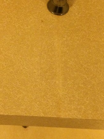 Comfort Inn Sioux City: Stained walls in the room.. Very Noisy..   Leaking ceiling in the hallway..  Not up to the stand