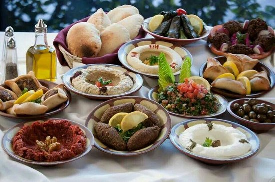 Lebanese food picture of babig restaurant yerevan for Arabic cuisine food