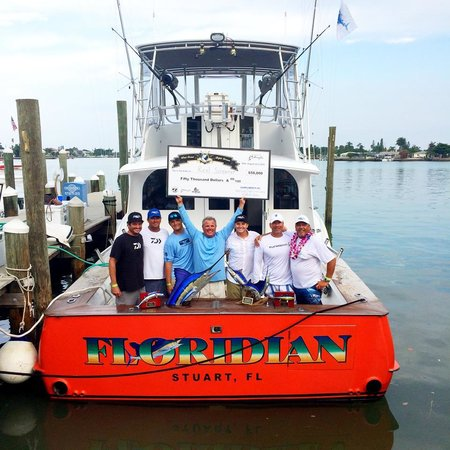 Floridian fishing charters with captain glenn cameron for Fishing charters stuart fl