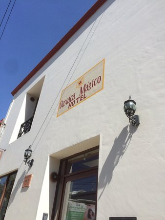 Hotel Oaxaca Mágico: A renovated old house turned into a comfortable, very clean and friendly hotel.