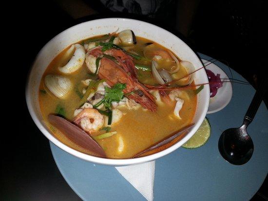Green Mango : Супчик Фо с морепродуктами