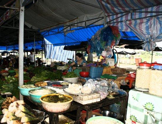 Cantho Market: En su puesto