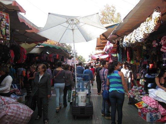 Vendors - Barrio Meiggs - Santiago