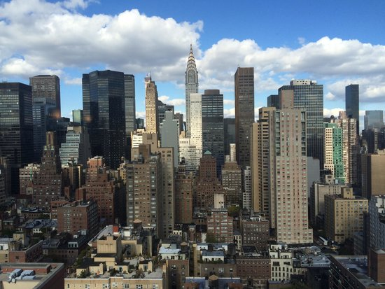 Dumont NYC–an Affinia hotel: Great views