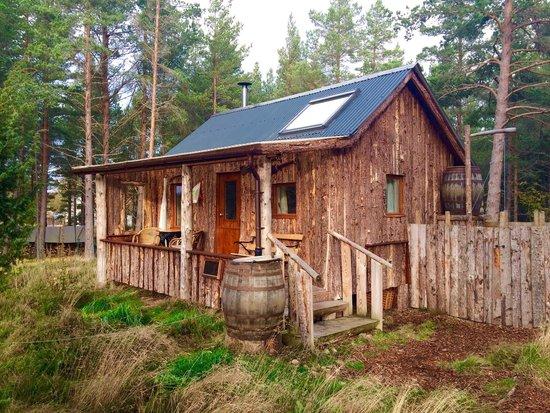 Lazy Duck Hostel, Eco Cabins & Lightweight Camping Ground: Woodman's hut