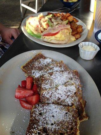 Kerbey Lane Cafe: The food