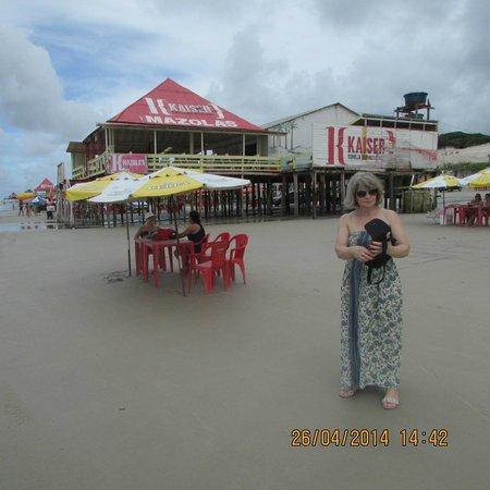 Nazare, BA: Praia de salinas