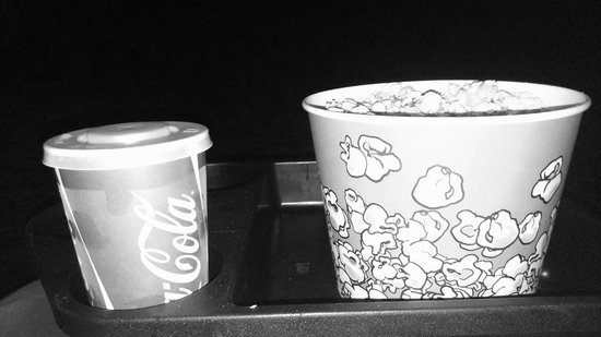 Movie House Dublin Road: Handy Tray for Carrying Your Goodies