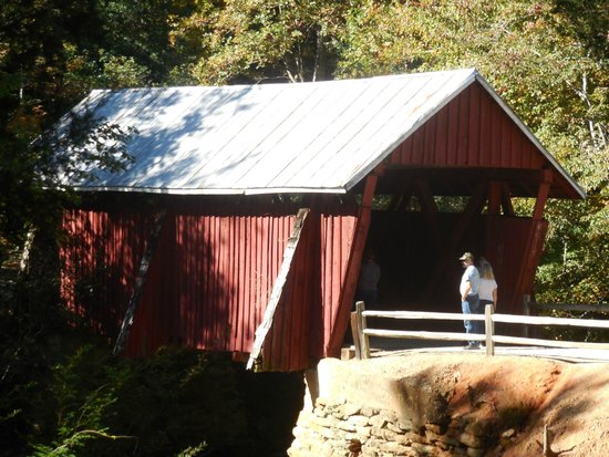 Landrum, Güney Carolina: Campbell's Covered Bridge