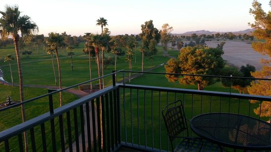 Francisco Grande Hotel & Golf Resort : Balcony view