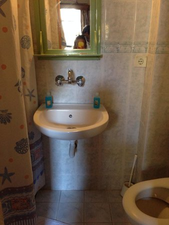Homeros Pension & Guesthouse: Bagno