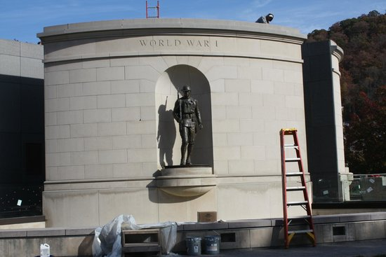 West Virginia Veterans Memorial : World War 1