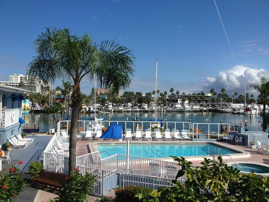Sea Captain Resort on the Bay: A view from the second floor at the Sea Captain