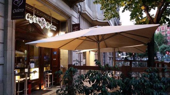 Cafe Te Quiero: Terraza