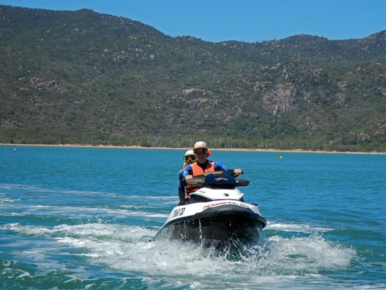 Magnetic Jet Adrenalin Jet Ski Tours: Going out