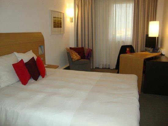 Novotel Budapest City : bom quarto