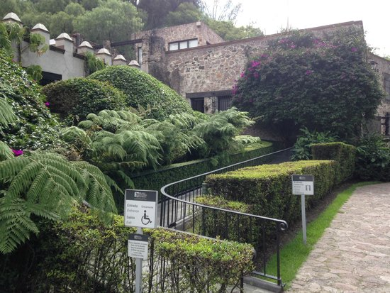 Museo Dolores Olmedo Patino: Entrada para cadeirantes