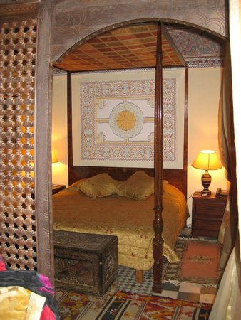 Riad Hida: Bedroom