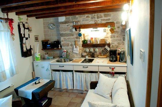 Salvezani Apartment: kitchen area, app.1