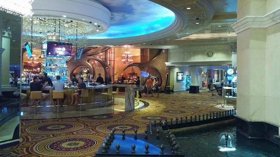 bar at front of the buffet Picture of Caesars Palace