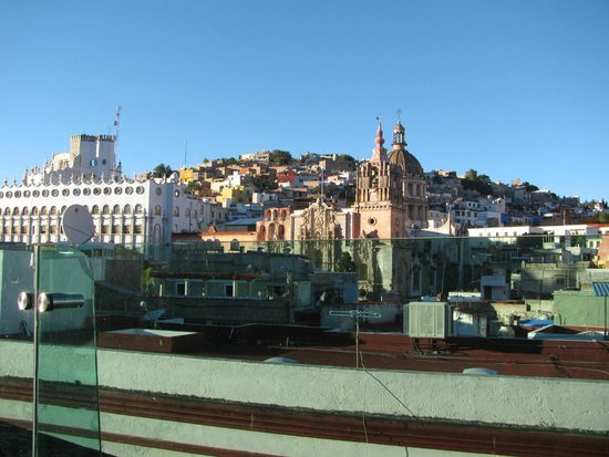 Edelmira Hotel Boutique: View from the roof terrace