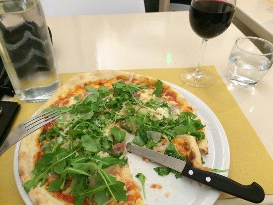 Il Pizzaiolo: Boris pizza with cèpes!