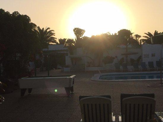 Nazaret Apartamentos: sun rise