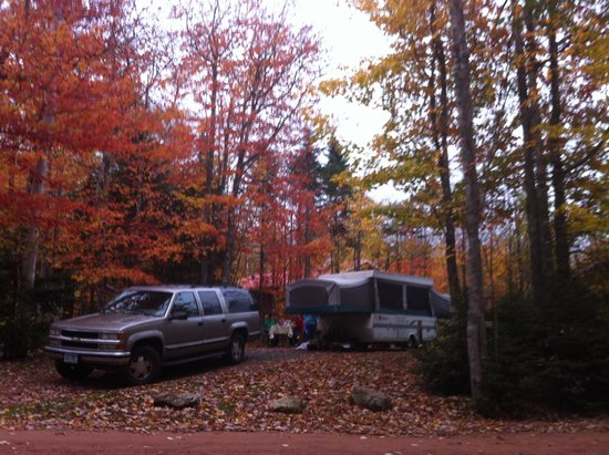 New Glasgow Highlands Campgrounds: Our Campsite