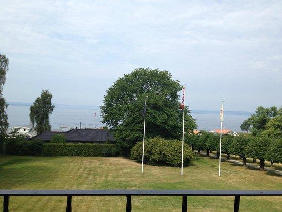 Hotell Refsnes Gods: utsikt fra rommet