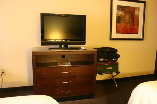 Hilton Garden Inn Lynchburg: Dresser and TV