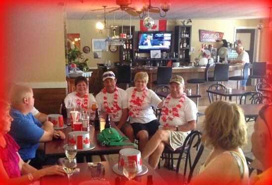 Mallorytown's Landing Restaurant Trattatoria : Canada Day