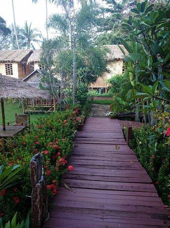 Pada Hotel: jardin