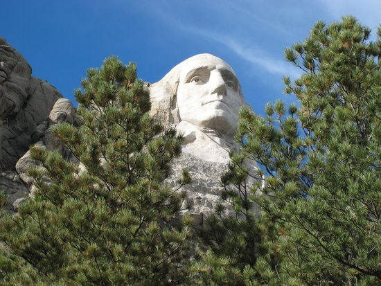 George washington picture of mount rushmore national