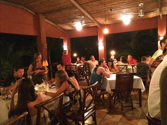 Hotel Cantarana: Restaurant dinners