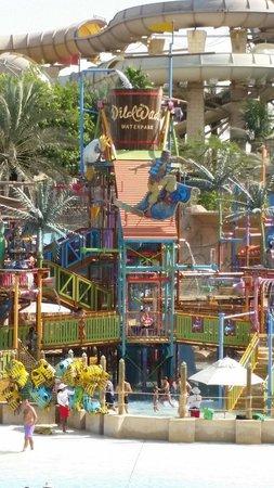 Wild Wadi Water Park: Kids water playground