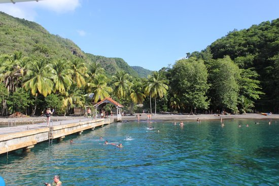 St. Lucian Wave Riders : Snorkeling stop