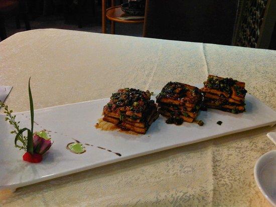 La Perle International Hotel: Tofu Dish - not bad